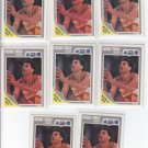 Reggie Theus Trasding Card Lot of (8) 1989-90  Fleer #111 Magic  NMMT