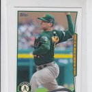 Jarrod Parker Trading Card Single 2014 Topps Mini #355 Athletics