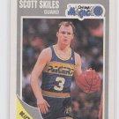 Scott Skiles Trading Card Single 1989-90 Fleer #110 Magic NMT Slightly OC