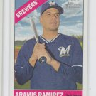 Aramis Ramirez Trading Card 2015 Topps Heritage #321 Brewers QTY
