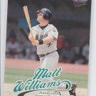 Matt Williams Trading Card Single 1999 Fleer Ultra #153 Diamondbacks