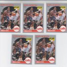 John Morton Jr RC Trading Card Lot of (8) 1990-91 Hoops #77 Cavaliers
