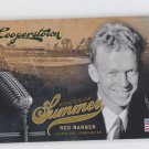 Red Barber Voices Of Summer Announcer Insert 2012 Panini Cooperstown #5