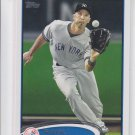 Raul Ibanez Baseball Trading Card Single 2012 Topps Series 2 #554 Yankees