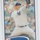 Freddy Garcia Baseball Trading Card Single 2012 Topps Series 2 #596 Yankees