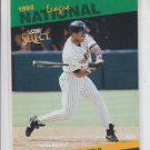 Gary Sheffield Leaders Baseball Trading Card 1993 Score Select #47 Padres