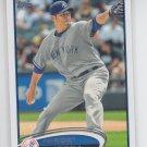 Hiroki Kuroda Baseball Trading Card Single 2012 Topps Series 2 #572 Yankees