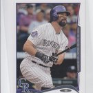 Todd Helton Trading Card Single 2014 Topps Mini #17 Rockies
