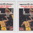 Vlade Divac Ft. Bulls Win OT Thriller Tribune Lot 2 1991-92 Hoops #540