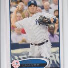 Eric Chavez Baseball Trading Card Single 2012 Topps Series 2 #618 Yankees