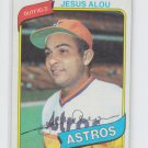 Jesus Alou Baseball Trading Card Single 1980 Topps #593 EX+ Slight Ding Astros