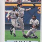 Derek Jeter Baseball Trading Card 2001 Topp Stadium Club #30 Yankees *BILL