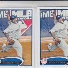 CC Sabathia Baseball Trading Card Lot of (2) 2012 Topps Series 2 #607 Yankees