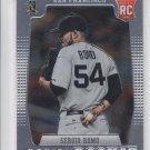 Sergio Romo RC Baseball Trading Card 2012 Panini Prizm #160 Giants
