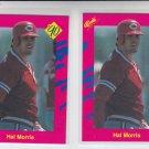 Hal Morris Trading Card Lot of (2) 1990 Classic Update #T35 Yankees