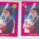 Bobby Rose Trading Card Lot of (2) 1990 Classic Update #T41 Angels