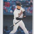 Cal Ripken Jr Capture The Action Insert 2001 Topps Stadium Club Orioles *BILL