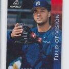 Derek Jeter Baseball Field of Vision 1997 Pinnacle #185 Yankees *BILL