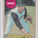Tommy Zisk Baseball Trading Card 1969 OPC #152 Pirates *VG *BILL