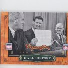 Ted Williams Hall History Insert 2012 Panini Cooperstown #8 Red Sox