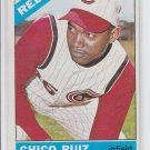 Chico Ruiz Baseball Trading Card 1966 OPC #159 Reds NMMT Sharp! *BILL