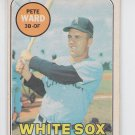Pete Ward Baseball Trading Card 1969 OPC #155 White Sox *EX *BILL