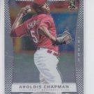 Aroldis Chapman Baseball Trading Card Single 2012 Panini Prizm #13 Reds