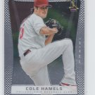 Cole Hamels Baseball Trading Card Single 2012 Panini Prizm #86 Phillies