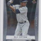 B.J. Upton Baseball Trading Card Single 2012 Panini Prizm #64 Braves