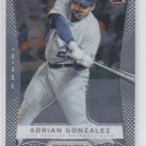 Adrian Gonzalez Baseball Trading Card Single 2012 Panini Prizm #39 Dodgers
