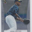 Jose Reyes Baseball Trading Card Single 2012 Panini Prizm #69 Blue Jays