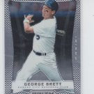George Brett Baseball Trading Card Single 2012 Panini Prizm #144 Royals