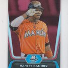 Hanley Ramirez Ruby Parallel 2012 Bowman Platinum #89 Marlins