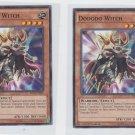 Dododo Witch Single 1996 YuGiOh Konami SECE-EN091 Common x2