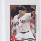 Jake Peavy Trading Card Single 2014 Topps Mini #307 Red Sox