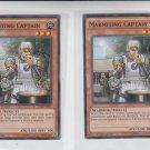 Marmiting Captain Single 1996 YuGiOh Konami BP03-EN043 Common x2