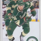 Mathew Dumba Hockey Trading Card 2014-15 Upper Deck #348 Wild
