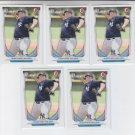 Jonathan Holder 1st Prospect Card Lot of (5) 2014 Bowman Draft #DP88 Yankees