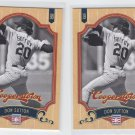 Don Sutton Trading Card Lot of (2) 2012 Panini Cooperstown #12 Dodgers