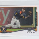 L.J. Hoes Trading Card Single 2014 Topps Mini #647 Astros