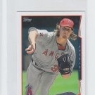 Jered Weaver Trading Card Single 2014 Topps Mini #548 Angels