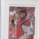 Yadier Molina Trading Card Single 2014 Topps Mini #57 Cardinals
