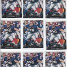 Pete Metzelaars Football Trading Card Lot of (30) 1995 Upper Deck #300 Panthers