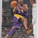 Kobe Bryant Basketball Trading Card Single 2008-09 Upper Deck #82 Lakers