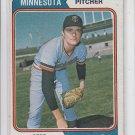 Bert Blyleven Baseball Trading Card 1974 Topps #98 Twins VG *BILL
