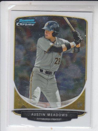 Austin Meadows Trading Card Single 2013 Bowman Chrome Draft #BDPP5 Pirates