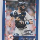 Jorge Posada Trading Card Single 2001 Donruss #126 Yankees *BILL