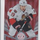 Jason Spezza Red Parallel SP 2013-14 Panini Totally Certified Senators 039/100
