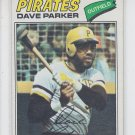 Dave Parker Baseball Trading Card 1977 Topps #270 Pirates EX+ *BILL
