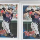 Jim Thome Lot of (2) 2010 Topps Update Series #US-232 Twins